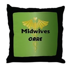 Midwives Care Throw Pillow