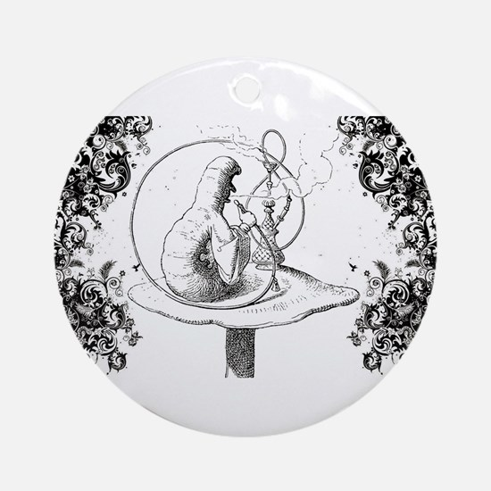 Absalom Swirls Ornament (Round)
