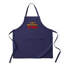Don't Need A Recipe Oma Apron (dark)