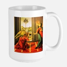 Annunciation St Gabriel and Virgin Mary Mugs
