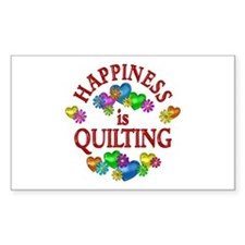 Happiness is Quilting Stickers