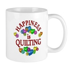 Happiness is Quilting Mug