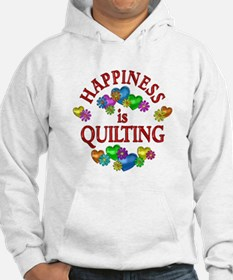 Happiness is Quilting Hoodie
