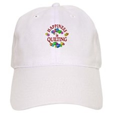 Happiness is Quilting Baseball Cap