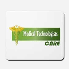 Medical Technologists Care Mousepad