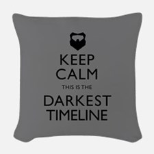 Keep Calm Darkest Timeline Community Woven Throw P