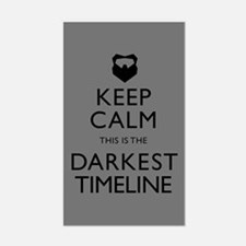 Keep Calm Darkest Timeline Community Decal