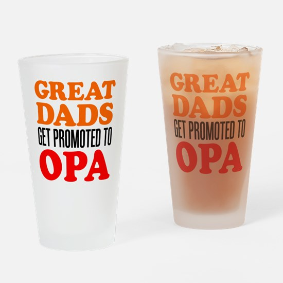 Promoted To Opa Drinkware Drinking Glass