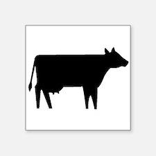 Cow Silhouette Sticker