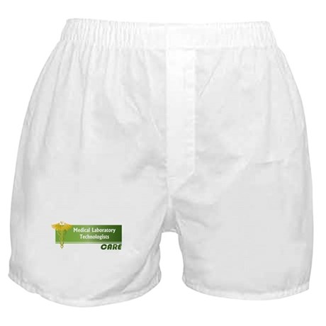 Medical Laboratory Technologists Care Boxer Shorts