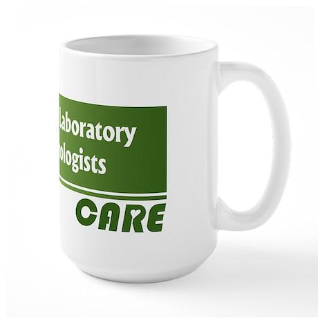 Medical Laboratory Technologists Care Large Mug