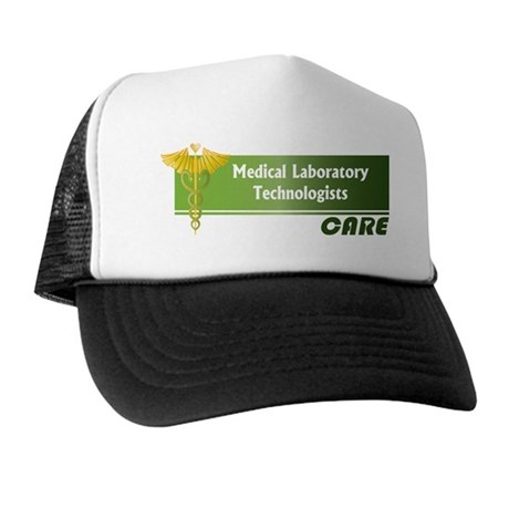 Medical Laboratory Technologists Care Trucker Hat