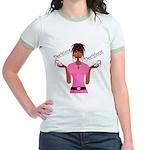 Decisions Decisions Jr. Ringer T-Shirt