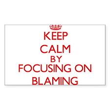 Blaming Decal