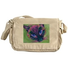 Siamese Psychedelic Messenger Bag