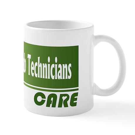 Medical Lab Technicians Care Mug