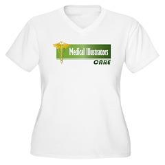 Medical Illustrators Care T-Shirt