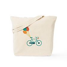Balloon Bike Tote Bag