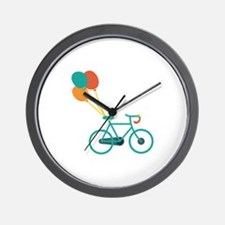 Balloon Bike Wall Clock