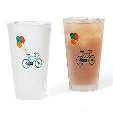 Balloon Bike Drinking Glass