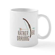 Rather Be Drawing Mugs