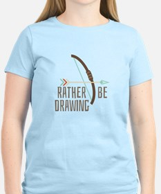 Rather Be Drawing T-Shirt