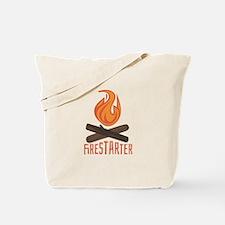 Firestarter Campfire Tote Bag