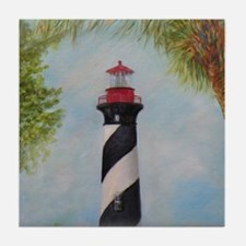 LIGHTHOUSE OF ST. AUGUSTINE, FLORIDA Tile Coaster