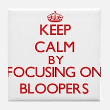 Bloopers Tile Coaster