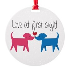 Love @ First Sight Ornament