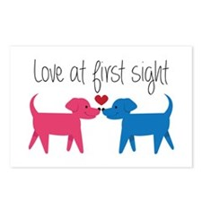 Love @ First Sight Postcards (Package of 8)