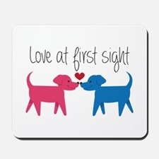 Love @ First Sight Mousepad