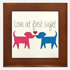 Love @ First Sight Framed Tile