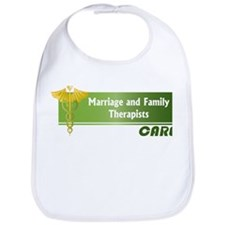 Marriage and Family Therapists Care Bib