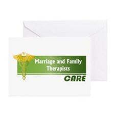 Marriage and Family Therapists Care Greeting Cards
