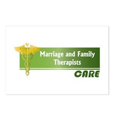 Marriage and Family Therapists Care Postcards (Pac