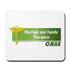 Marriage and Family Therapists Care Mousepad