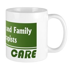 Marriage and Family Therapists Care Small Mugs