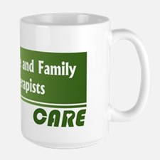 Marriage and Family Therapists Care Ceramic Mugs
