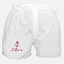 Boarding Passs Boxer Shorts