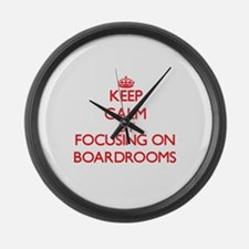 Boardrooms Large Wall Clock