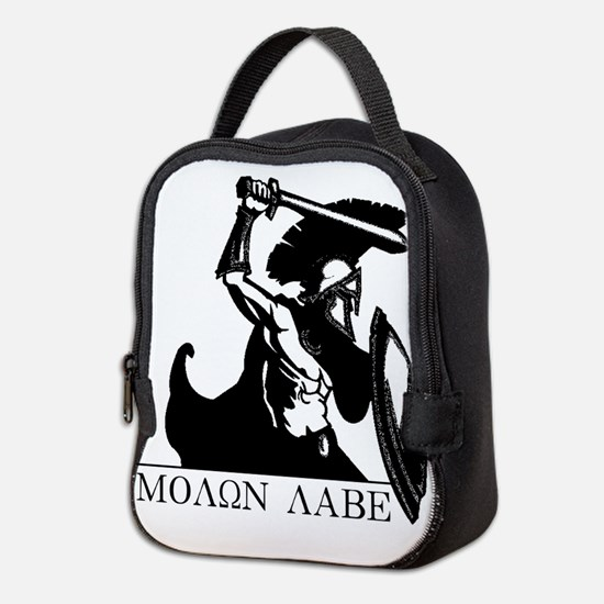 Spartan Molon Labe Neoprene Lunch Bag