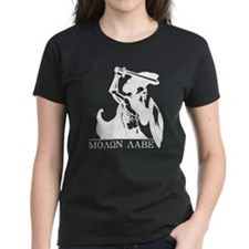Molon Labe White on Dark T-Shirt