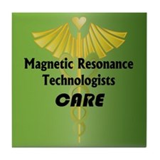 Magnetic Resonance Technologists Care Tile Coaster