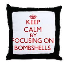 Bombshells Throw Pillow