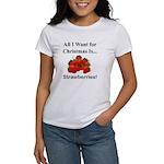 Christmas Strawberries Women's T-Shirt