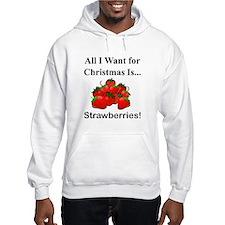 Christmas Strawberries Hoodie