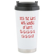 Cute Caroling kids Travel Mug