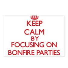 Bonfire Parties Postcards (Package of 8)