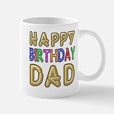 Happy Birthday Dad Mug